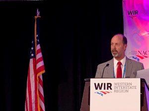 2019-2020 WIR 1st Vice President, Commissioner Greg Chilcott, Ravalli County, Montana