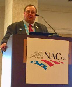 Cascade County Commissioner, Joe Briggs, NACo Western Region Representative